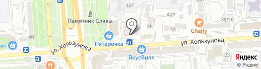 Соляная сауна на карте Воронежа