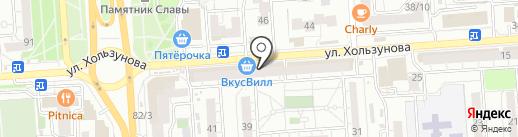 Galaxis на карте Воронежа