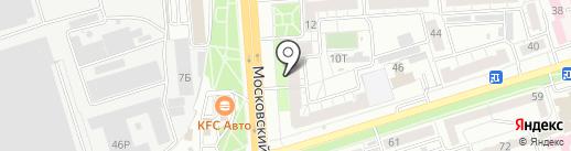Emex на карте Воронежа