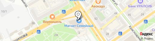 Кухниссимо на карте Воронежа
