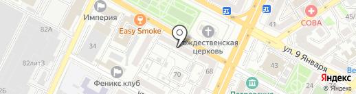 Дар на карте Воронежа