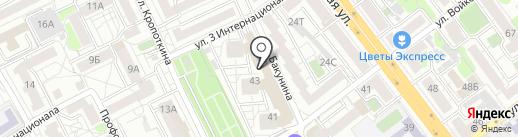 Забота на карте Воронежа