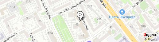 36 travel на карте Воронежа