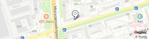 Tango на карте Воронежа