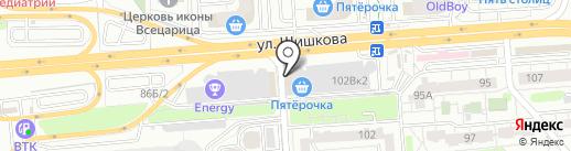 Хороший день на карте Воронежа