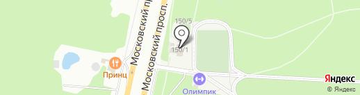 Дёнер кебаб на карте Воронежа