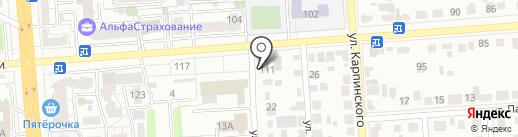Федеральный центр ценообразования в строительстве и промышленности строительных материалов на карте Воронежа