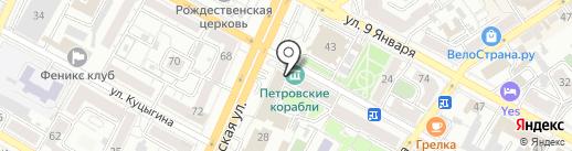 Норд на карте Воронежа