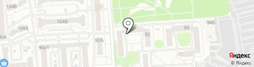 РАМЕНКИ на карте Воронежа