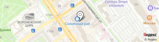 The cofee machine на карте Воронежа