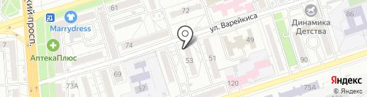 Гомеопатический кабинет на карте Воронежа