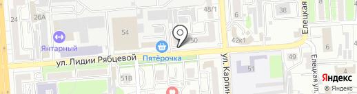 Золото на карте Воронежа