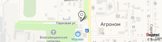 Деревенская курочка на карте Агронома