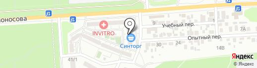МАК на карте Воронежа