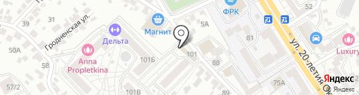 Ваш Логопед на карте Воронежа