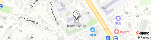 ИНСАЙТ на карте Воронежа