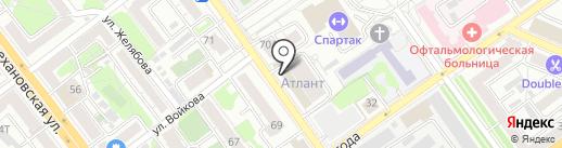 РКЦ на карте Воронежа