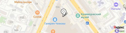 TOM TAILOR на карте Воронежа