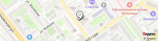 TSYBAN на карте Воронежа
