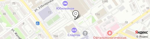 Ван Райт Топ Тим на карте Воронежа