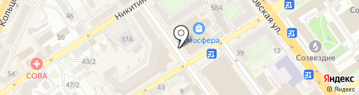 Dovs на карте Воронежа