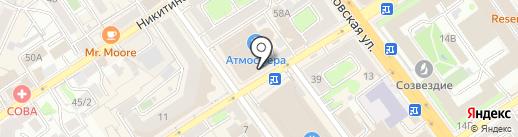 Салон пряжи и товаров для рукоделия на карте Воронежа