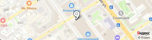 Клеенка на карте Воронежа