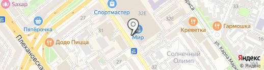 Фото аура на карте Воронежа