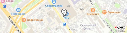 Comforte на карте Воронежа