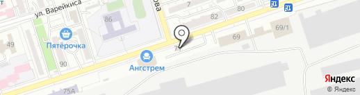 Garage на карте Воронежа
