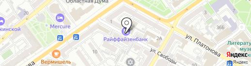 МЕДСТАНДАРТГРУПП на карте Воронежа