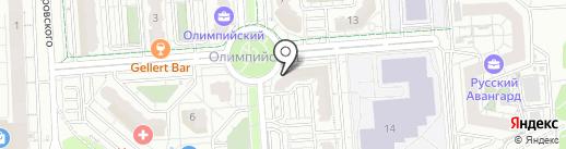 Global Dance на карте Воронежа