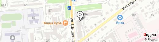 Салон штор на карте Воронежа