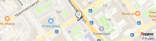 Loft barbershop на карте Воронежа