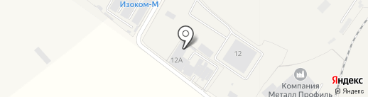 Юг-Стоун на карте Динской