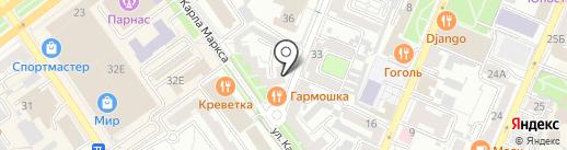 Виктория на карте Воронежа