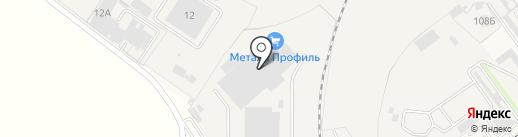 Компания Металл Профиль на карте Динской