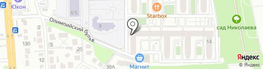 Бир Мир на карте Воронежа
