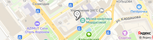 Terminal Italy на карте Воронежа