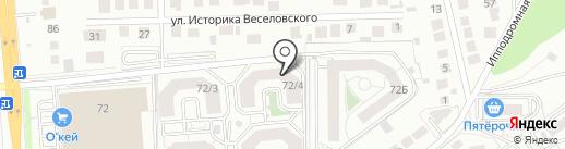 Фантитан на карте Воронежа