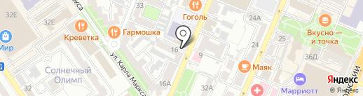 ЭнергоРодник на карте Воронежа