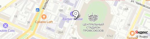 Lady Gym на карте Воронежа
