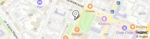 Маня & Ваня на карте Воронежа