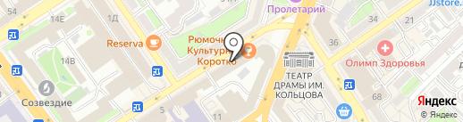 Банкомат, СМП банк на карте Воронежа