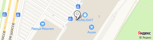Академия молочных наук на карте Воронежа