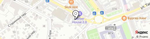 Адвокатской кабинет Шукуровой Р.А. на карте Воронежа