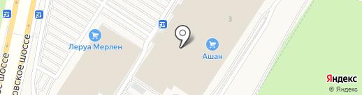 Aks на карте Воронежа