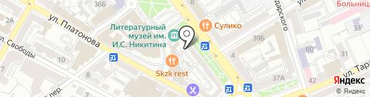Alex+ на карте Воронежа