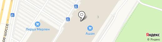 Фаббрис на карте Воронежа