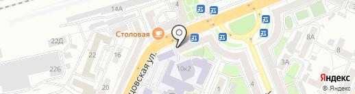 GO! Кофе на карте Воронежа